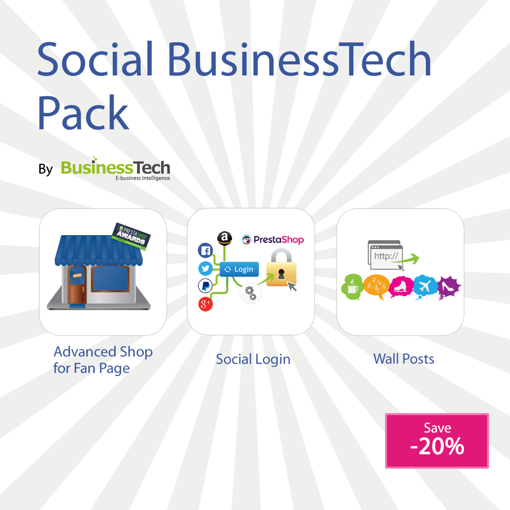 Social BusinessTech Pack