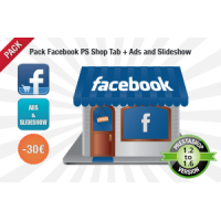 Pack Facebook Shop Pro + Ads and Slideshow