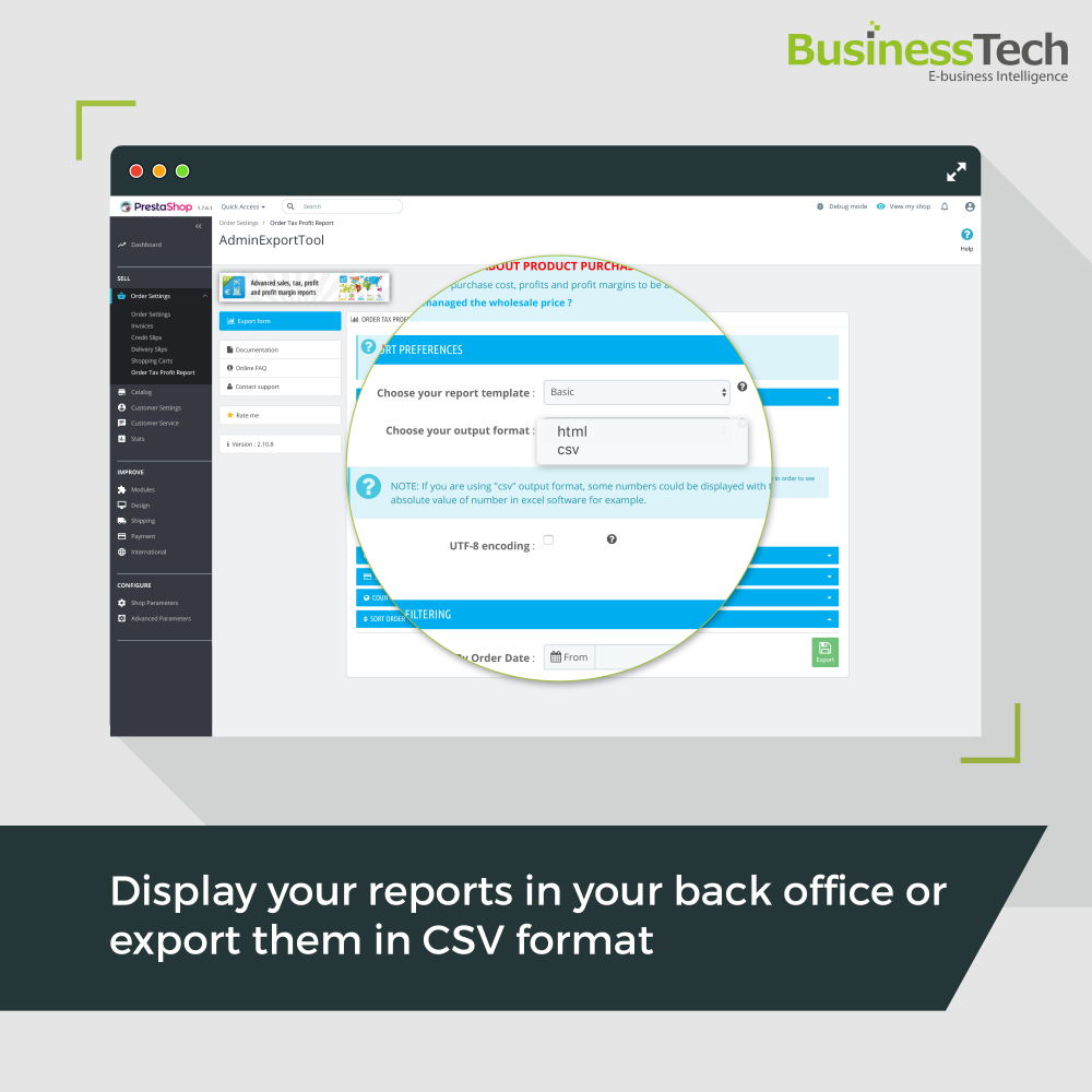 Sales Reports Pro