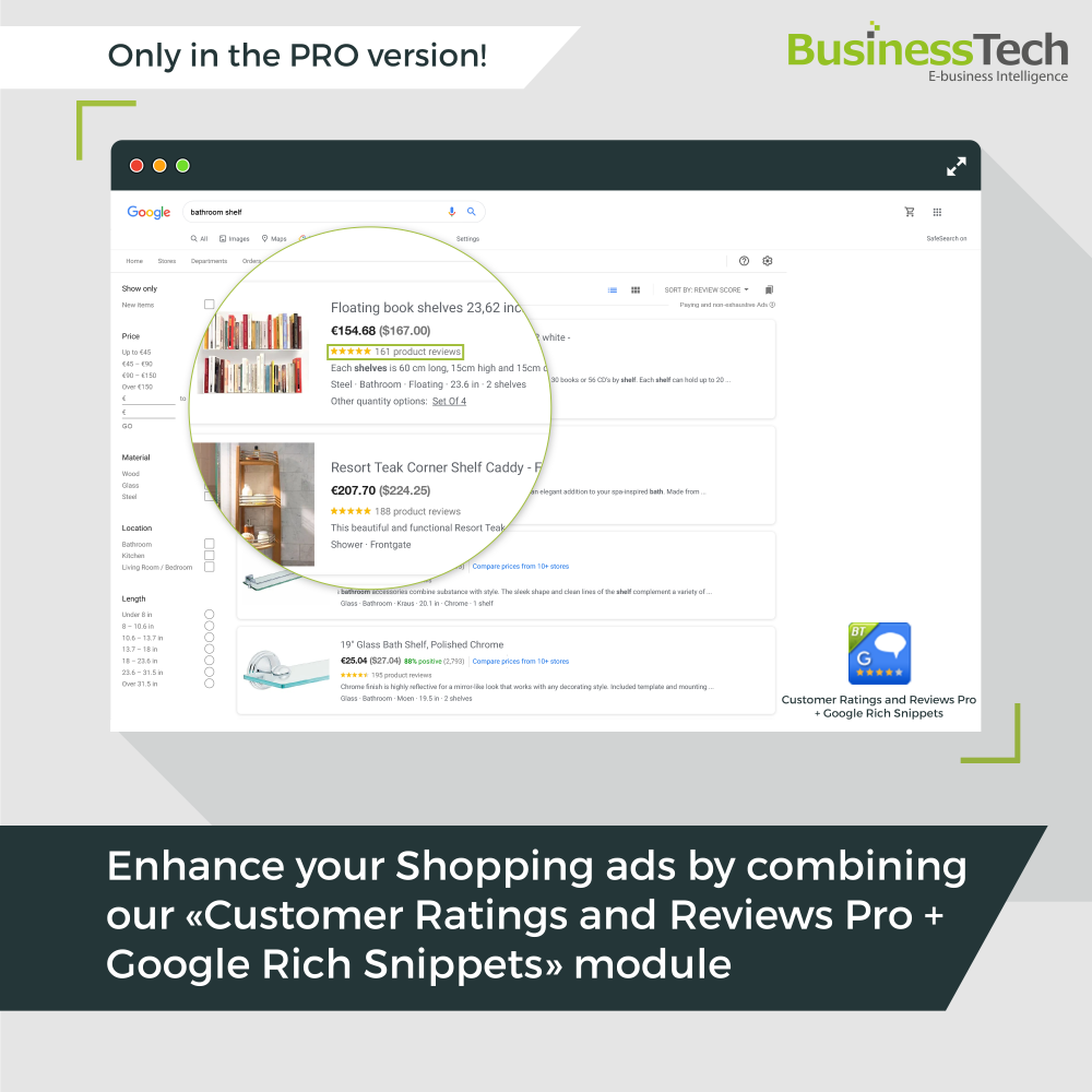 Google Merchant Center PRO (Google Shopping)