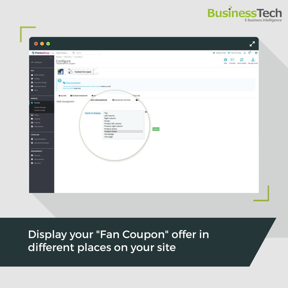 Fan Coupon