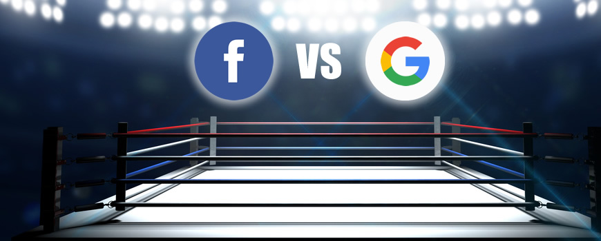 What is Facebook's main advantage over Google when it comes to ads ?